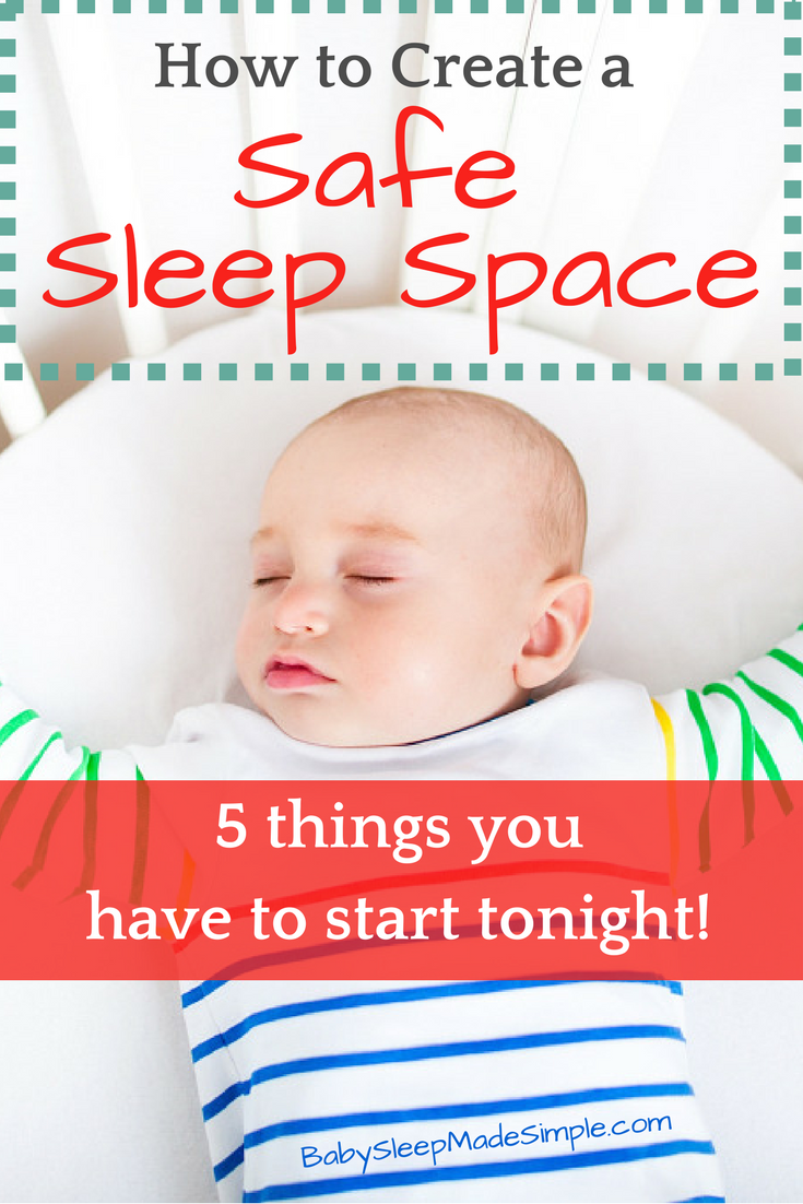 how to put a baby to sleep safely