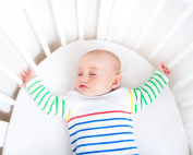 Safe Sleep Space Baby SIDS prevention tips for infants and newborns in cribs
