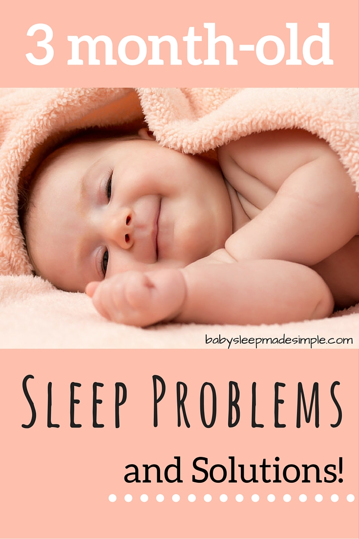 How to get your 3 month old baby sleeping well. Reduce night wakings, move