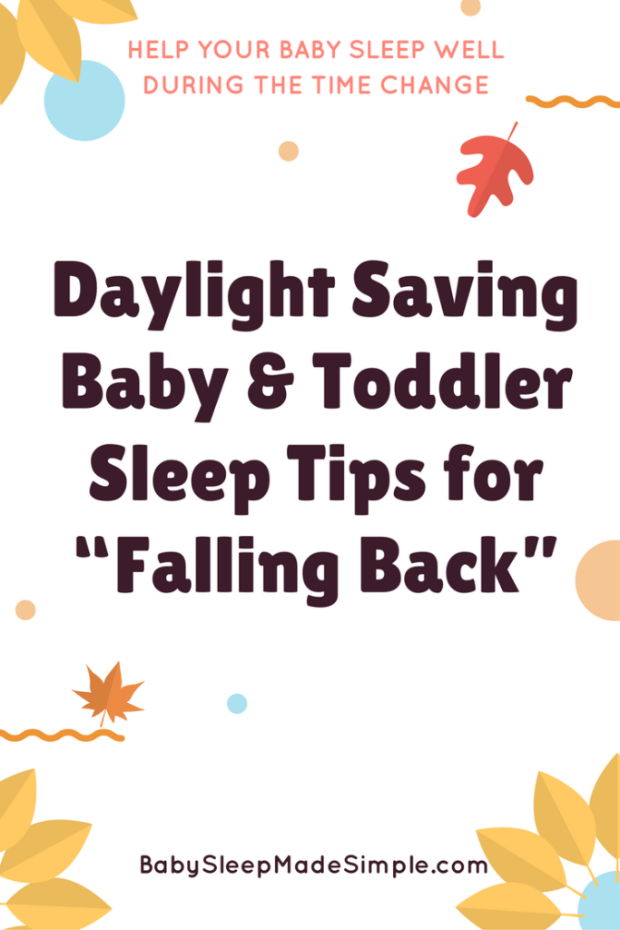 How to stop baby waking at 5 am during Daylight Savings