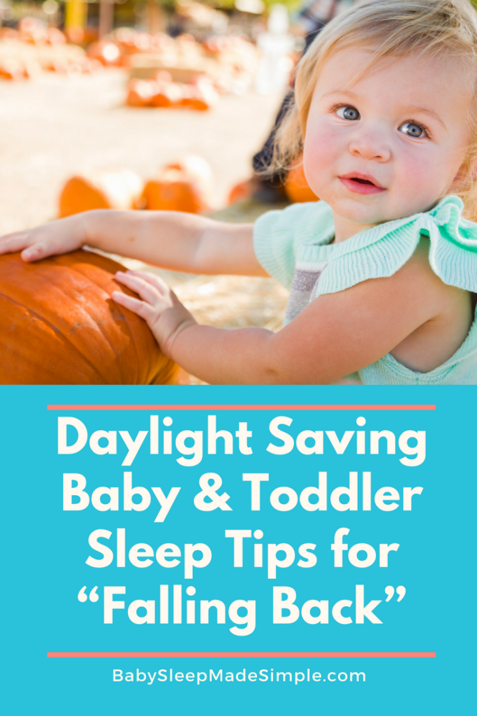 How to adjust baby's schedule after daylight savings ends