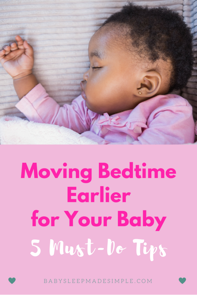 How to move baby's bedtime earlier for 3 month old tips