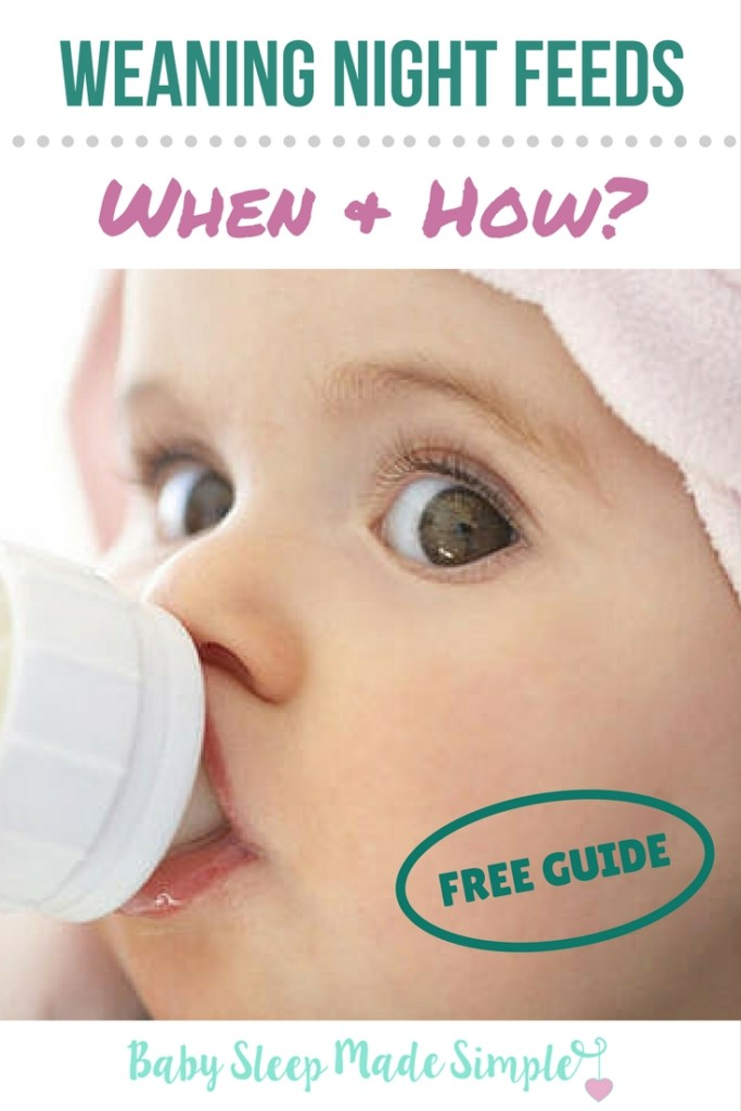 Weaning Night Feedings Free Guide