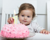 1 year old girl sleep tips birthday cake