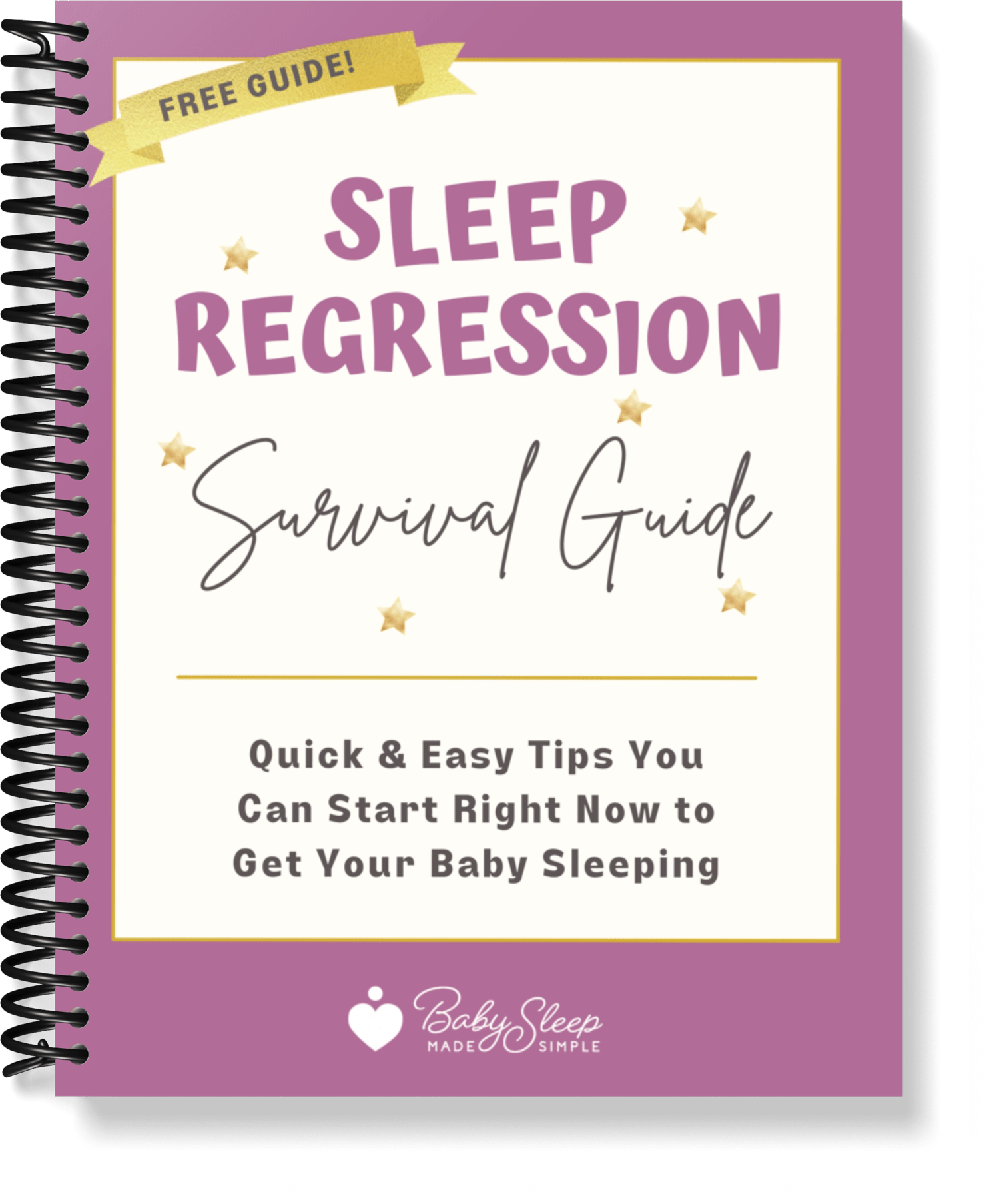 a guide for parents to help their baby sleep better